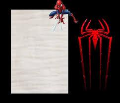 Spiderman Birthday Invitation Templates Free Spider Man Invitations Cast A Web Of Excitement Free