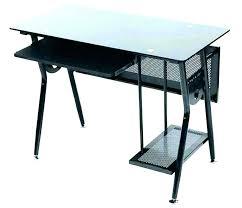 black glass computer desk black glass computer desk glass black computer desk s black glass computer