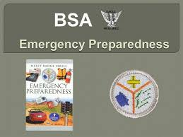 Emergency Preparedness Merit Badge Chart Emergency Preparedness Emb Authorstream