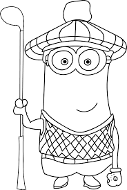 Small Picture Minion Soccer Player Coloring Pages Wecoloringpage Coloring