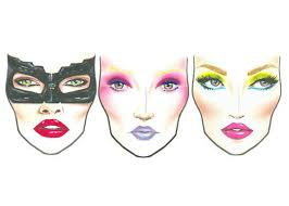 Exclusive Mac Halloween Face Charts 2012