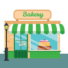 Collection Of 14 Free Storefront Clipart Bake Shop Bill Clipart