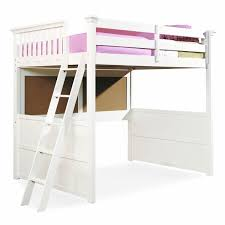 exquisite ideas white wood loft bed twin loft bed frame pink home design furniture twin loft