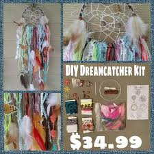 Dream Catchers Make Your Own Make Your Own Dream Catcher Kit DIY by TheHousePhoenix on Etsy 37
