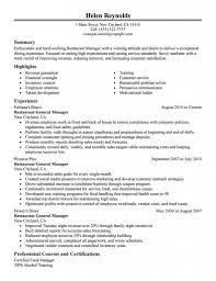 Sample Resume For Restaurant Manager Download Server Resume Sample Diplomatic Regatta Excellent 7
