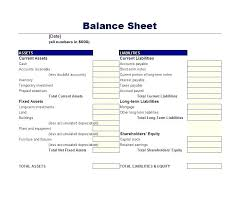 Simple Balance Sheet Excel Free Personal Balance Sheet Template Excel Google Search
