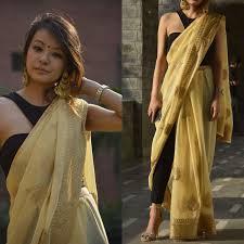 Graduation Saree Design Graduation Day Wiw Gold Saree Saree Indian Sarees