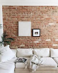 brick accent wall brick wall decor 79 best bagged brick tarech