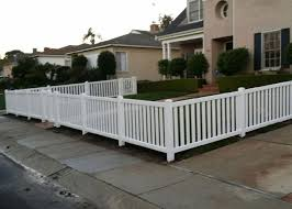 vinyl picket fence front yard. Fence Gallery - Los Angeles, South Bay CA Contractor | J\u0026J Vinyl Picket Front Yard N