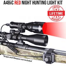 Best Coyote Hunting Light Wicked Lights A48ic Red Night Hunting Light Kit For Coyote Hog Fox Bobcat Varmint