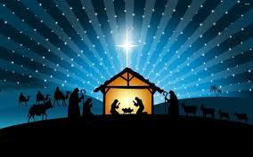 blue christmas background nativity. Christmas Nativity Scene Wallpaper WallpaperSafari To Blue Background