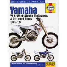 manual haynes for 2006 yamaha yz 450 fv 4t 4th gen 2s22