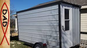 diy homemade cer trailer