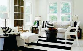 black white striped rug nz and