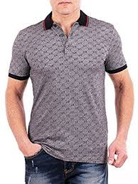 gucci shirt. gucci polo shirt, mens gray short sleeve t- shirt gg print all sizes t