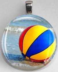Unique Beach Ball In Ocean Interchangeable Magnetic 27 Pendant Inside Innovation Ideas