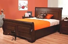 decoration: Mahogany Bed Frame
