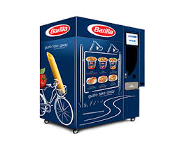 vending machine the pastacup vending machine created and by the company bicom srl from bologna is an innovative machine that provides barilla pastacups