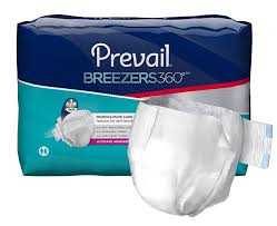 Prevail Breezers 360 Size Chart Prevail Breezers 360 Adult Briefs Ultimate Absorbency