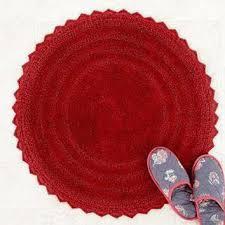 round bath mat red bath rugs