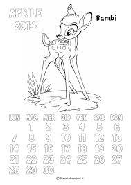 Calendario 2017 Degli Animali Disney Da Colorare Per Disegno