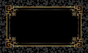 black and gold frame png. Interesting Png Black Gold Frame Pattern Background Material Inside And Gold Frame Png R