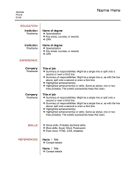 Best Resumes Ever | Free Resume Example And Writing Download