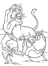 King Coloring Pages Of The Lion Printable Sheets Mufasa