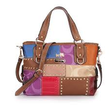 Coach Holiday Matching Stud Medium Brown Multi Totes EBR Is The Best Choice  To Send Your Friend As A Gift.   Fashion   Pinterest   Medium brown, ...