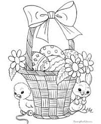 Small Picture Hard Coloring Pages Easter Coloring Pages