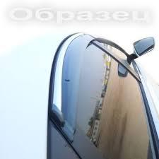 <b>Дефлекторы</b> окон <b>Opel</b> Mokka 2012- с <b>хромированным</b> ...