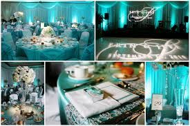 Tiffany Blue Black And White Wedding Colors