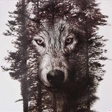 1 шт 2115 см водонепроницаемая временная татуировка наклейка волк