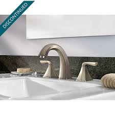 Pfister Selia Kitchen Faucet Brushed Nickel Selia Widespread Bath Faucet F 049 Slkk Pfister