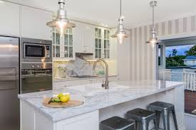 hamptons style interiors use classic wallpaper for for hampton style kitchen pendants turb industrial cage pendant light