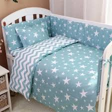 cloud baby bedding set style cotton baby bedding set reactive dyeing cartoon cloud tree pattern handmade cloud baby bedding