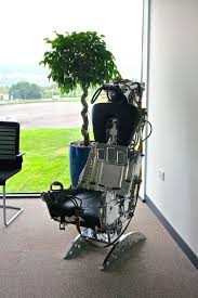ejection seat office chair desk design ideas