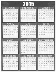 2015 Calendar Printable One Page 2015 Calendar 16 Free Printable