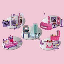 plastic dollhouse furniture sets. 4 story dollhouse with lift 5 in 1 furniture set bathroom plastic sets fortune east group