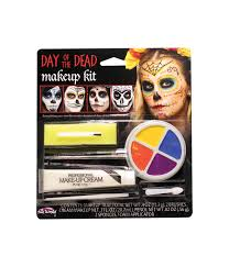 day of the dead character makeup kit