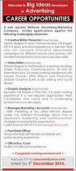 khyber pakhtoonkhuwa jobs archives jhang jobs creative writer presenter video editor job in kpk national advertising marketing company