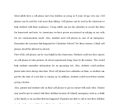 cell phone usage in school essay essay on banning cell phones in school 505 words bartleby