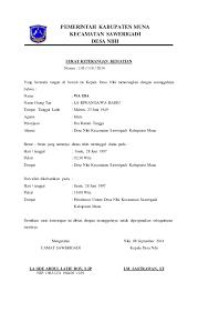 Download contoh surat kematian dari kelurahan desa 2019. Contoh Kop Surat Keterangan Kematian Contoh Kop Surat