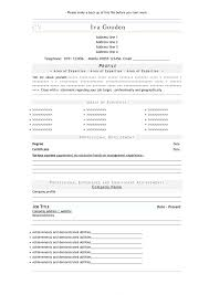 Resume Builder Online Free Download Template Regarding Templates