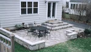 stone patio steps wonderful backyard stone patio design ideas patio sitting wall and patios amp decks installing patio stone steps