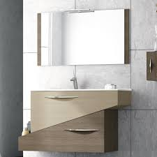 abella  inch modern single sink bathroom vanity set with mirror