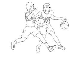 Imprimer Sports Basketball Num Ro 487891 Coloriage Sur Le Basket L