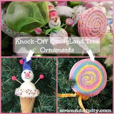 diy candyland tree ornaments
