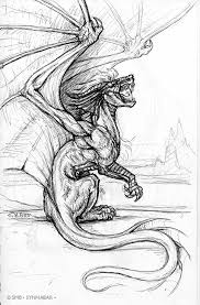 Small Picture Realistic Dragon Coloring Pages NOTE to see my newest Pen