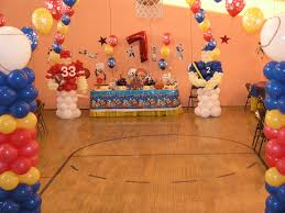Sports Themed Balloon Decor Watch More Like Sports Birthday Decorations
